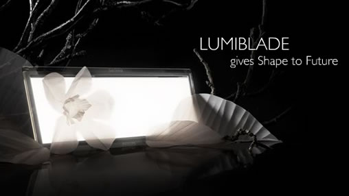 Philips shows off Lumiblade, new OLED applications
