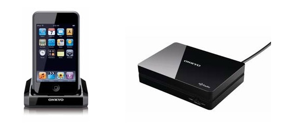 Onkyo announces iPod/iPhone U-Port devices and HD radio