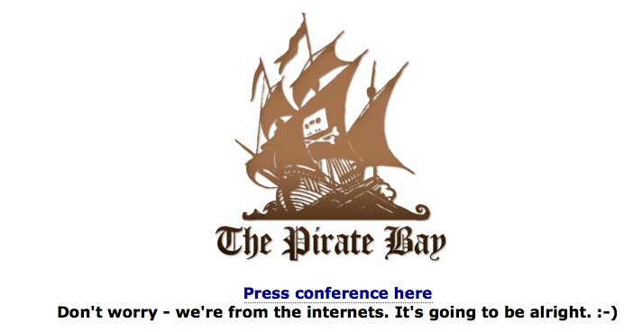 Pirate Bay Admins found guilty; get 1-year sentence
