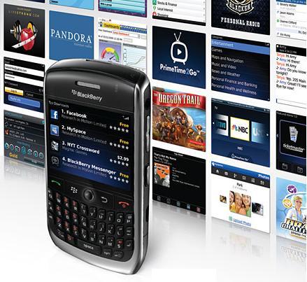 RIM BlackBerry App World software store launches