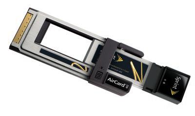 Sprint AirCard 402 EVDO card for ExpressCard & PC Card