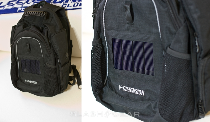 V-Dimension Helius Solar Backpack Review
