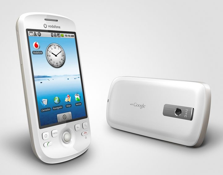 Vodafone Spain launch HTC Magic today