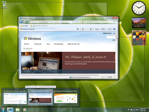 Microsoft Windows 7 RC launched today