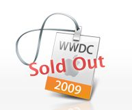 Apple WWDC09 sold out