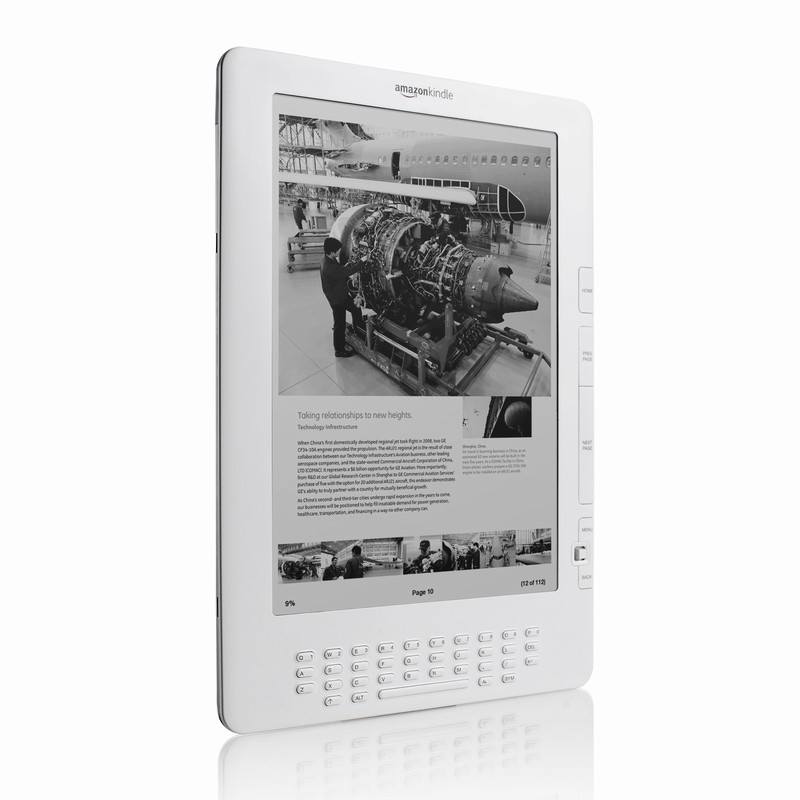 Amazon Kindle DX official images & specifications