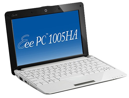 ASUS Eee PC 1005HA gets product page, full specs