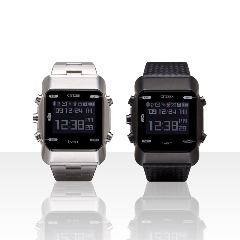 Citizen AIBATO M Bluetooth watch with remote camera control