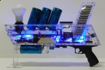 DIY Coilgun: 68mph from quad-capacitor array