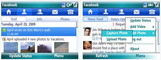 Facebook for Windows Mobile app released