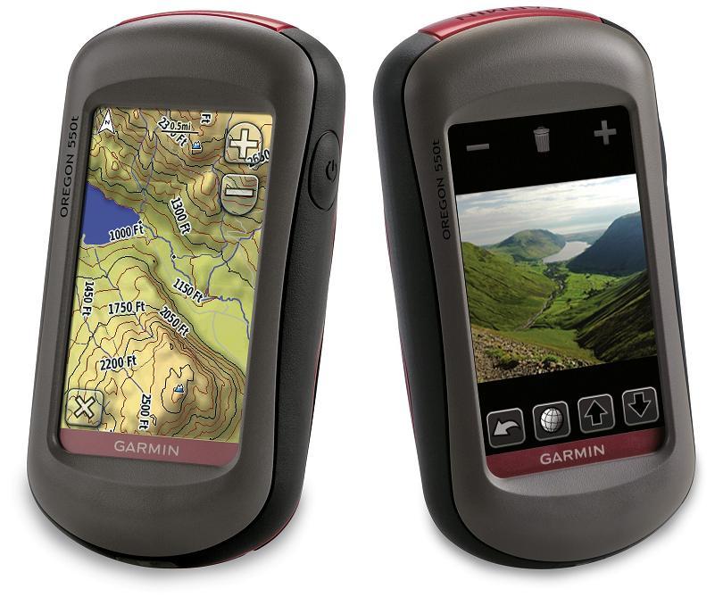 Garmin Oregon 550 & 550t GPS with 3.2MP camera