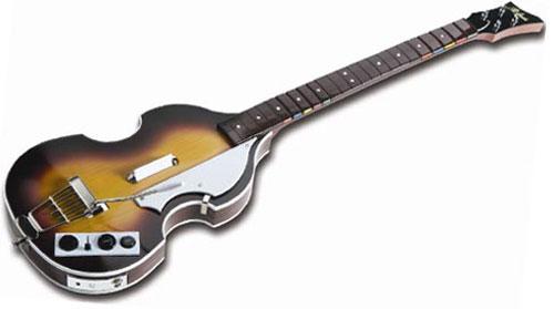 Höfner bass guitar controller for Rock Band revealed