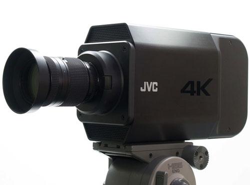JVC shows off super high-rez camera prototype, D-ILA 3 projector