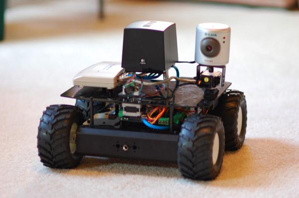 Autonomous DIY robot based on cheap MAKE Controller