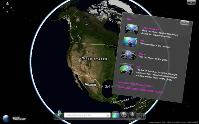 Microsoft Touch Pack for Windows 7: multitouch video demo