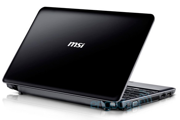 MSI Wind U200 12-inch CULV ultraportable leaks