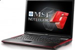 MSI GX723 gaming notebook gets better graphics