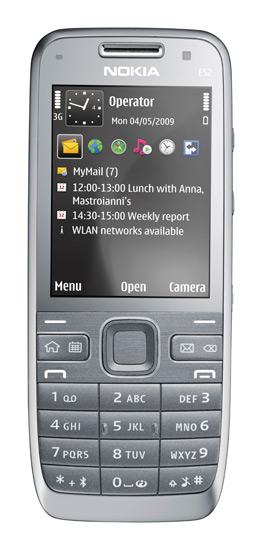 Nokia E52: stellar battery life