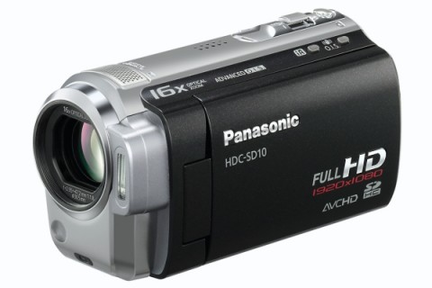 Panasonic 1080p HDC-SD10 and TM10 camcorders priced for US