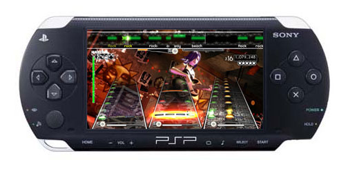 Rock Band Unplugged for PSP leaks; Could cause PSP glitches
