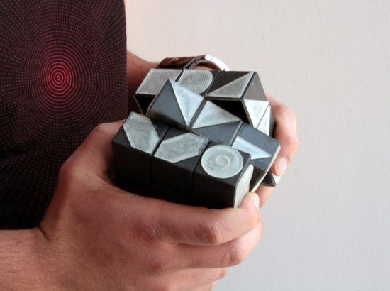 Rubik's Cube Font Generator