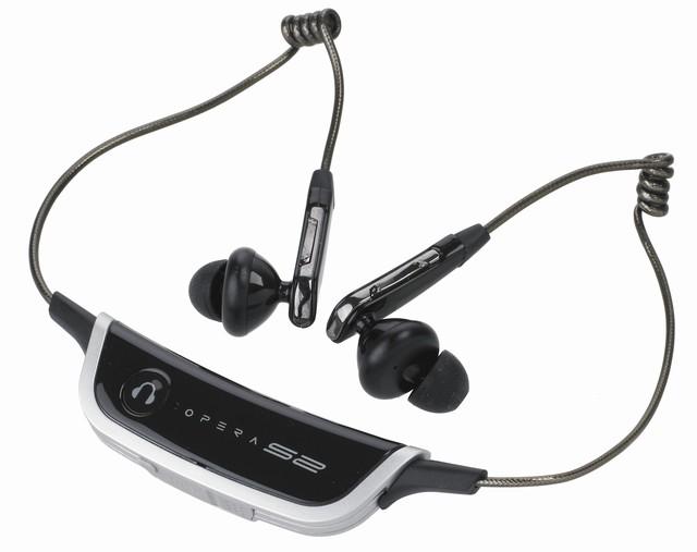 DigiFi Digital Opera S2 and iPod S5 wireless headphones