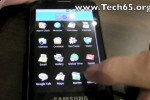 Samsung I7500 Android phone in-depth video demo