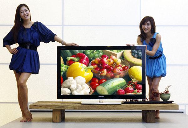 Samsung 850 PAVV Plasma HDTV just 29mm thick