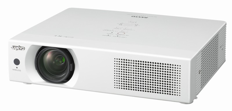 Sanyo LP-WXU700 WiFi draft-n projector