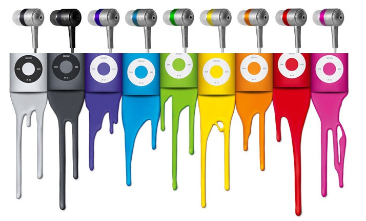 Radius shows off TruTune Fine Color Series earphones for iPod Nano