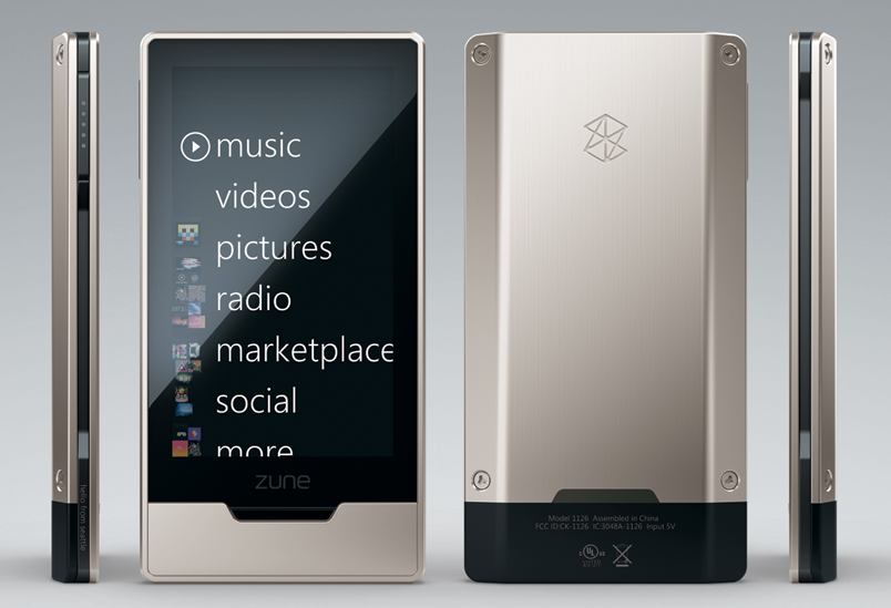 Zune HD Announced Today