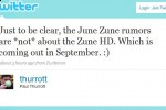 Zune HD launching September?