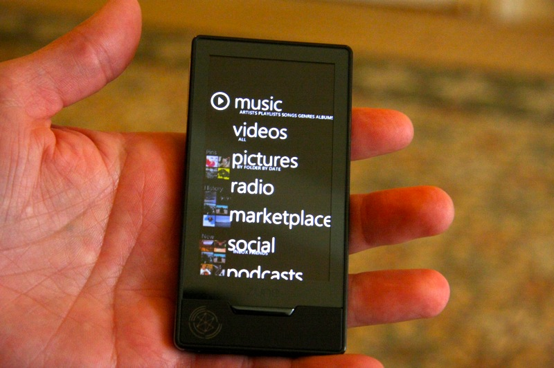 Zune HD gets hands-on