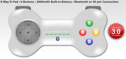 22Moo GameBone Pro controller for iPhone and iPod touch