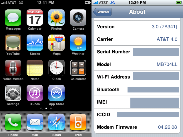 iPhone OS 3.0 officially released