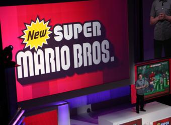 New Super Mario Bros. for Nintendo Wii announced