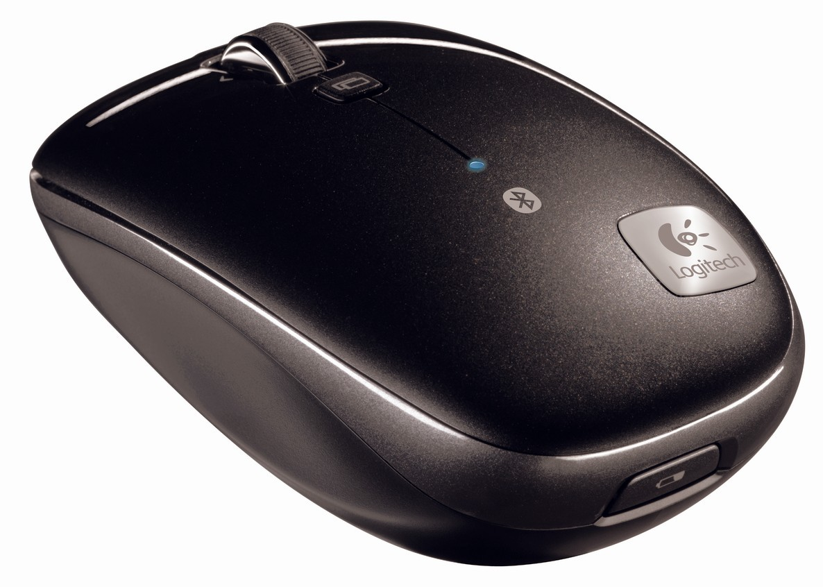 """Logitech Portable Bluetooth Mouse M555b with """"hyper-fast scroll"""""""