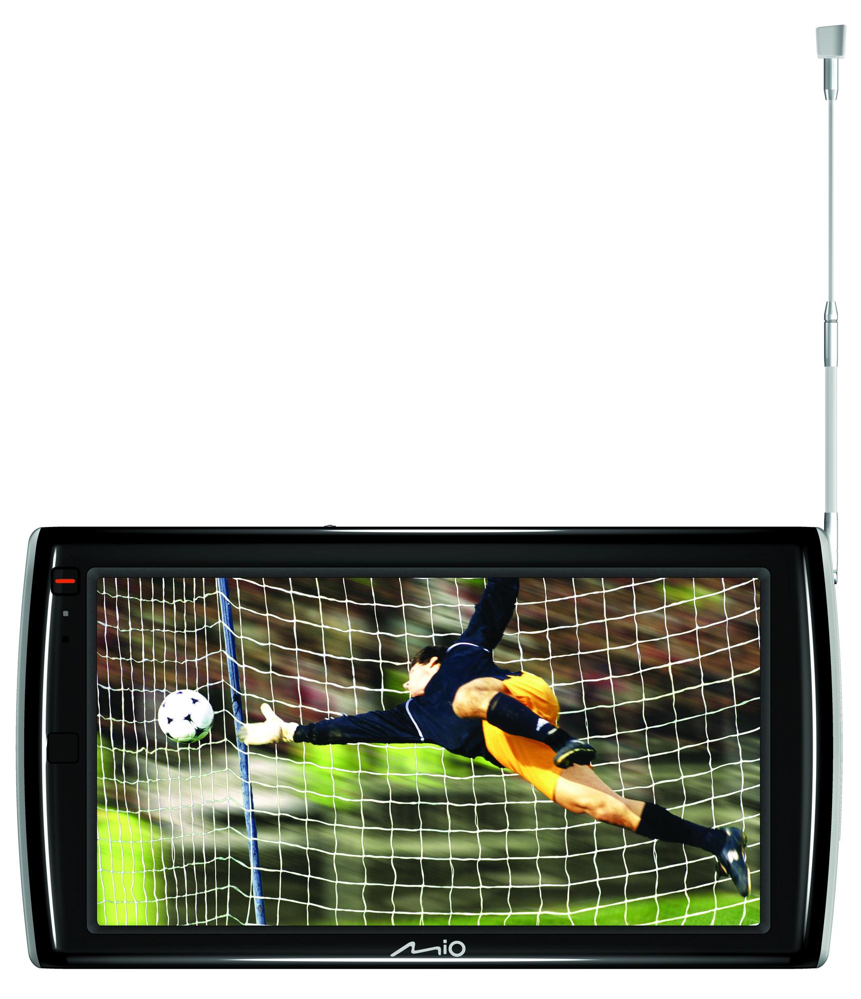 Mio Navman Spirit TV V735 and V505 digital TV PNDs announced