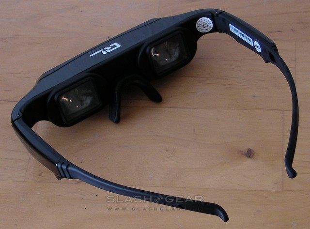 Q-London 3D 80″ Video Eyewear review