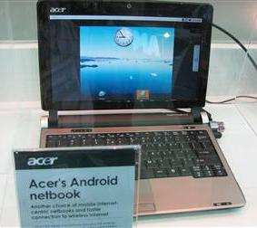 Acer Android dual-boot netbook coming August?
