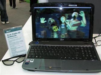 Acer Aspire 3D notebook coming October