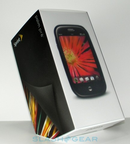 Sprint Palm Pre released, but where are all the Touchstones?