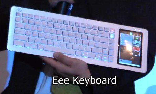 ASUS Eee Keyboard gets Moblin [Video]