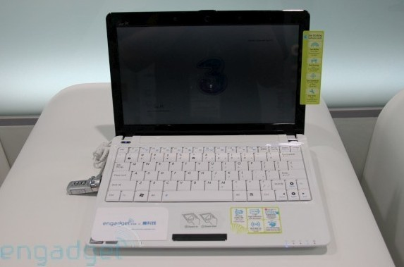 ASUS Eee PC 1101HGo with added 3G