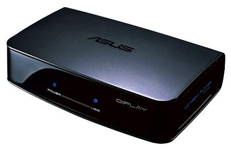 ASUS O!Play media box adding wireless Full HD streaming?