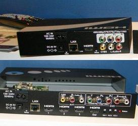Averlogic demo HDMI over Powerline