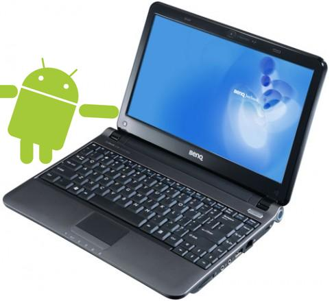 BenQ planning Android netbook & smartphone for 2010