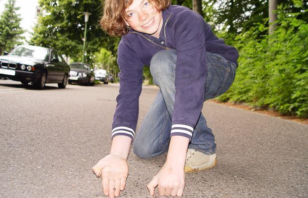 30,000mph meteorite hits German teenager