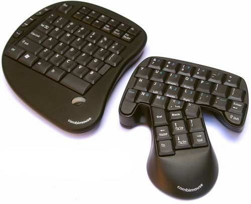 Combimouse merges keyboard and mouse [Video]