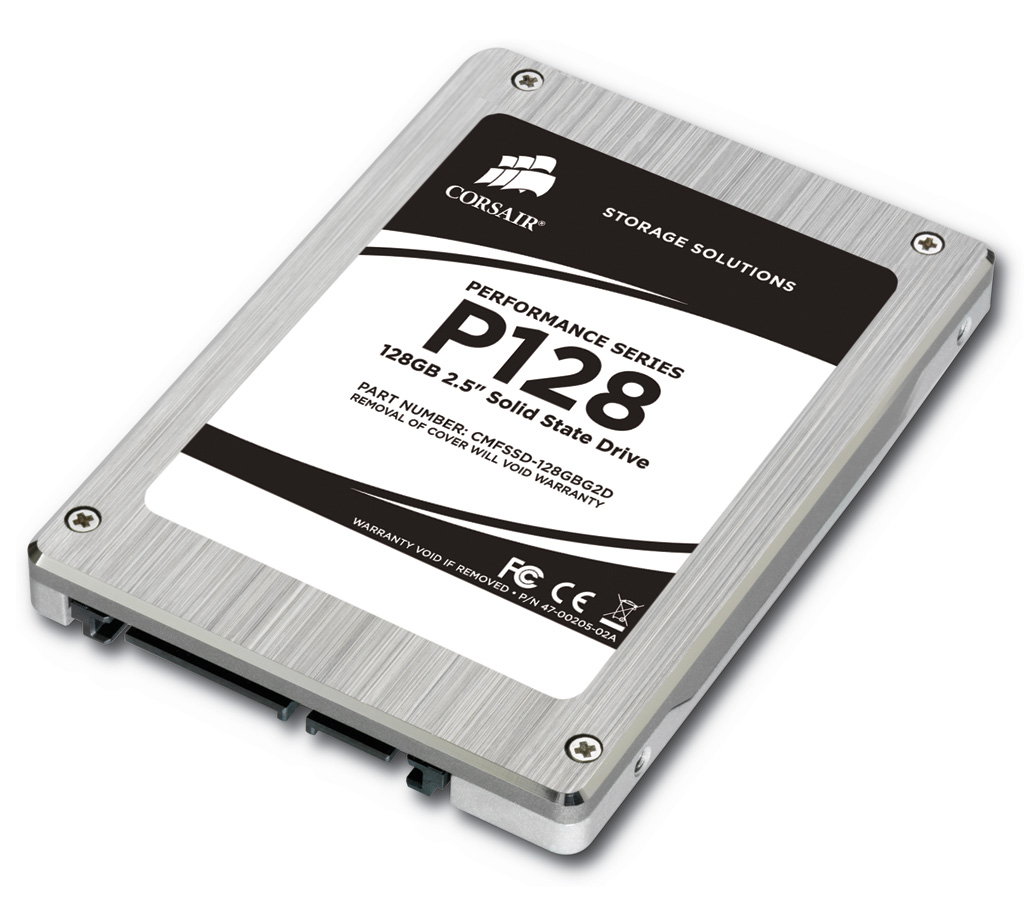 Corsair 64GB and 128GB Performance SSDs